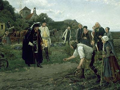 König friedrich ii befiehlt den kartoffelanbau